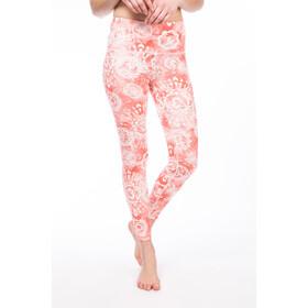 super.natural Super Spodnie do biegania Kobiety czerwony/biały